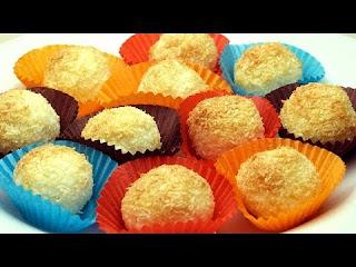 Coconut Topped Cookies (Hindistan Cevizli Kurabiye)