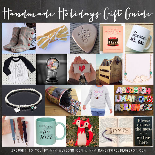 Handmade Holiday Gift Guide!