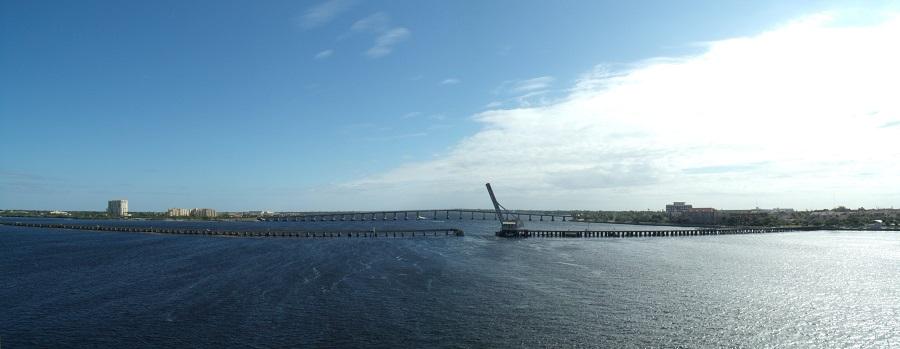 Puentes en el Manatee River desde la US 41