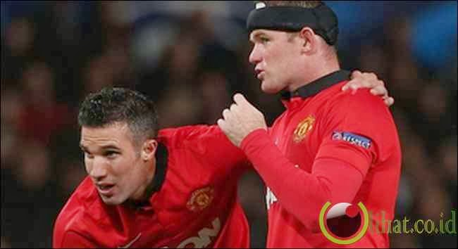 Wayne Rooney & Robin van Persie