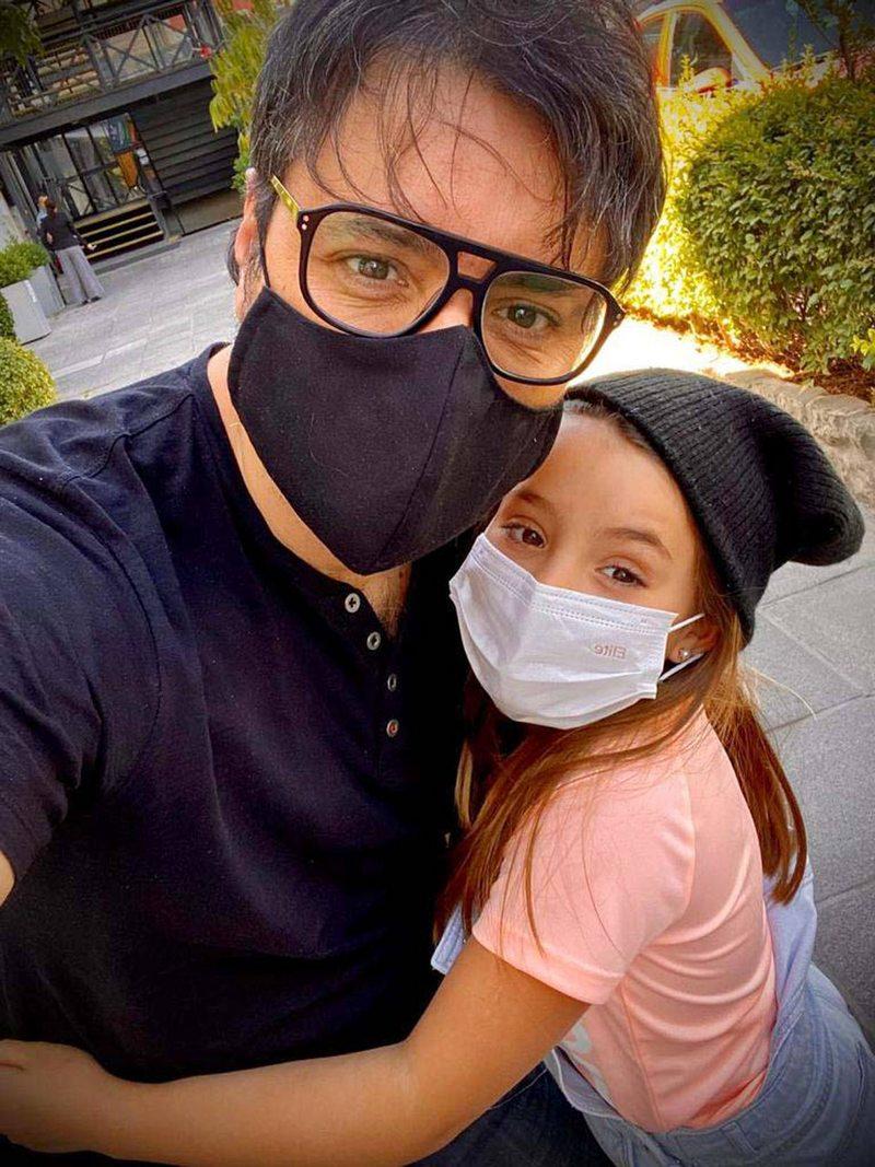 Los resguardos de Paloma Aliaga y Daniel Valenzuela con el Instagram de su hija actriz