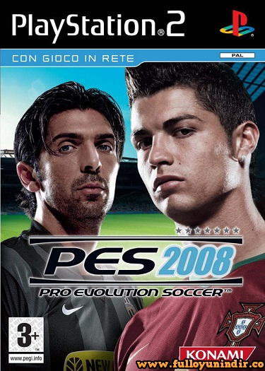 Pro Evolution Soccer 2008 (PAL) Playstation 2 Tek Link