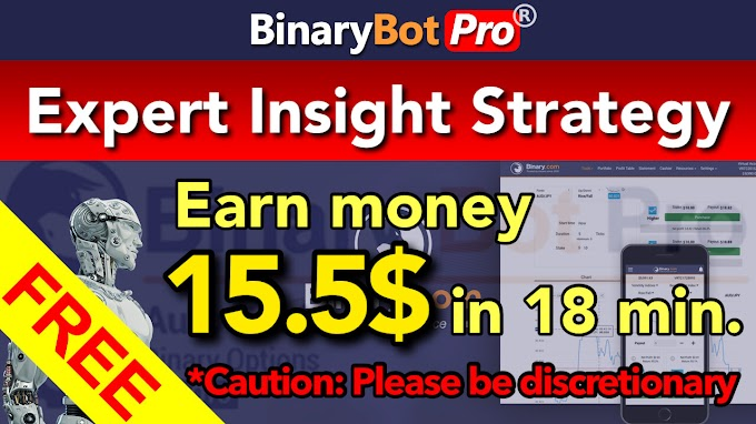 Expert Insight Strategy | Binary Bot Pro