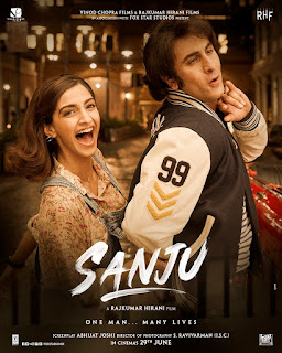 Latest poster of sanju movie