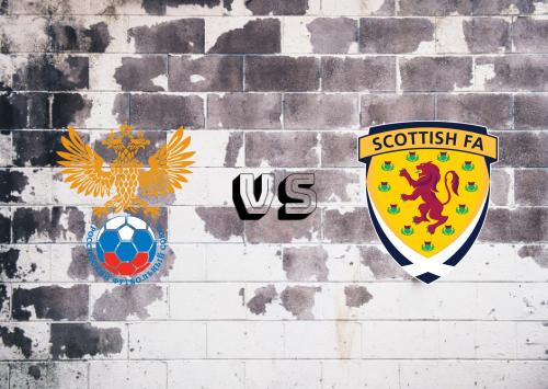 Rusia vs Escocia  Resumen