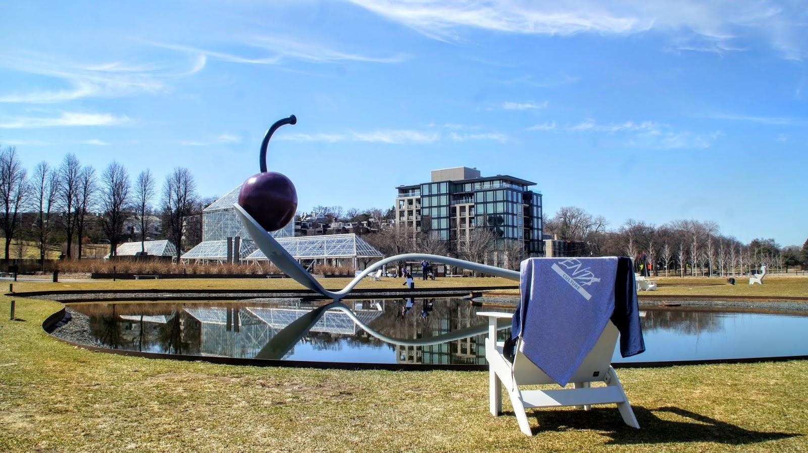 A closer look at The Minneapolis Sculpture Garden