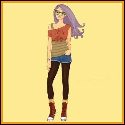 Modern girls stylish dp