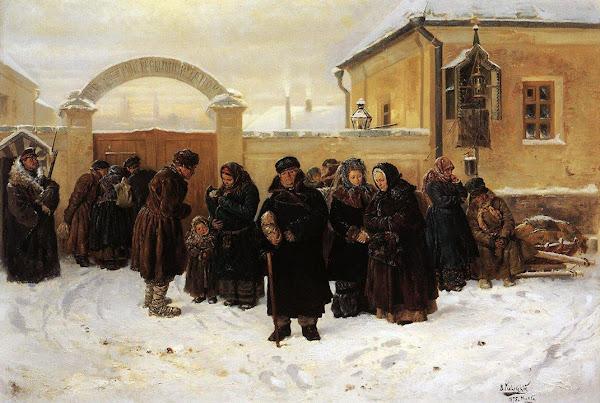 Маковский Владимир Егорович - Ожидание. 1875