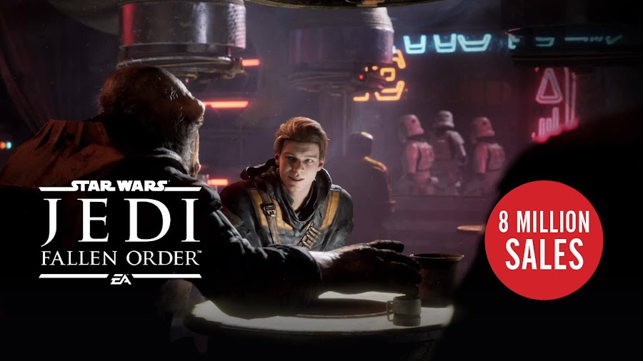 star wars jedi fallen order 8 million sales electronic arts respawn entertainment