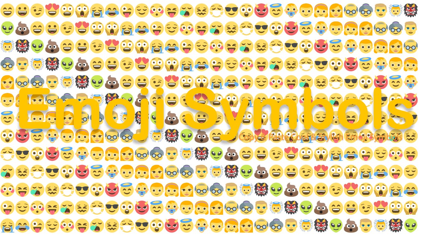 Emoji Symbols - Copy Cool Smily, Animal, Nature and  Emoji