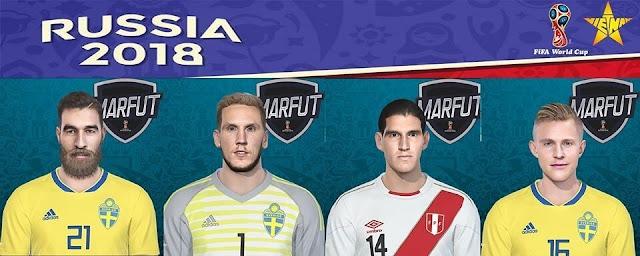 Mini Facepack World Cup V1 PES 2018