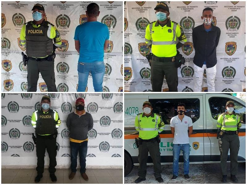 hoyennoticia.com, Cuatro capturados con licencias falsas de conducción
