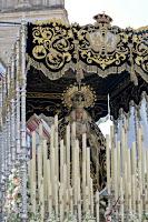 La Virgen de la Soledad, Patrona de Cantillana, saldrá en procesión extraordinaria el próximo 19 de octubre.