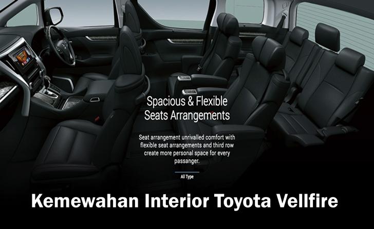 Kemewahan Interior Toyota Vellfire