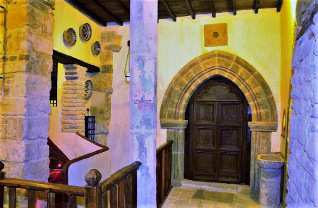 Patio de la Sinagoga del Agua en Úbeda