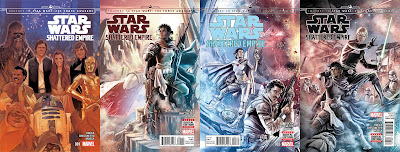 Todas las portadas de Star Wars: Shattered Empire