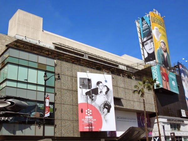 TCM Classic Film Festival 2014 billboards Hollywood