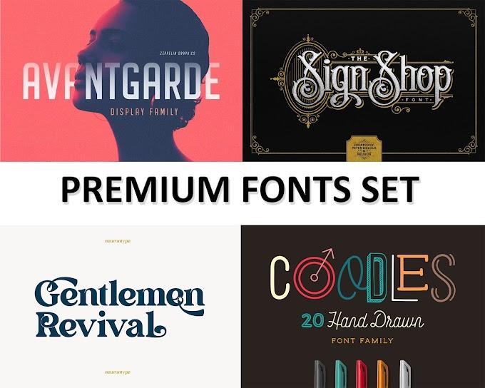 Premium Font Set