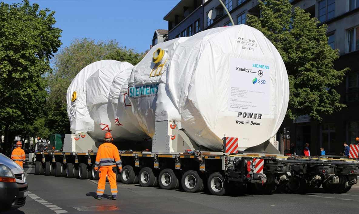 La plus grande turbine à gaz de Siemens