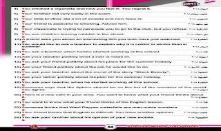 اهم اسئلة المحافظات السابقة فى مادة اللغة الانجليزية الصف الثالث الاعدادى الترم الثانى من كتاب العمالقة اهم اسئلة المحافظات السابقة انجليزي تالتة اعدادى ترم تانى