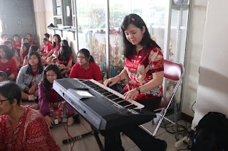 Kegiatan Imlek dan Valentine SMP Kalam Kudus 2020