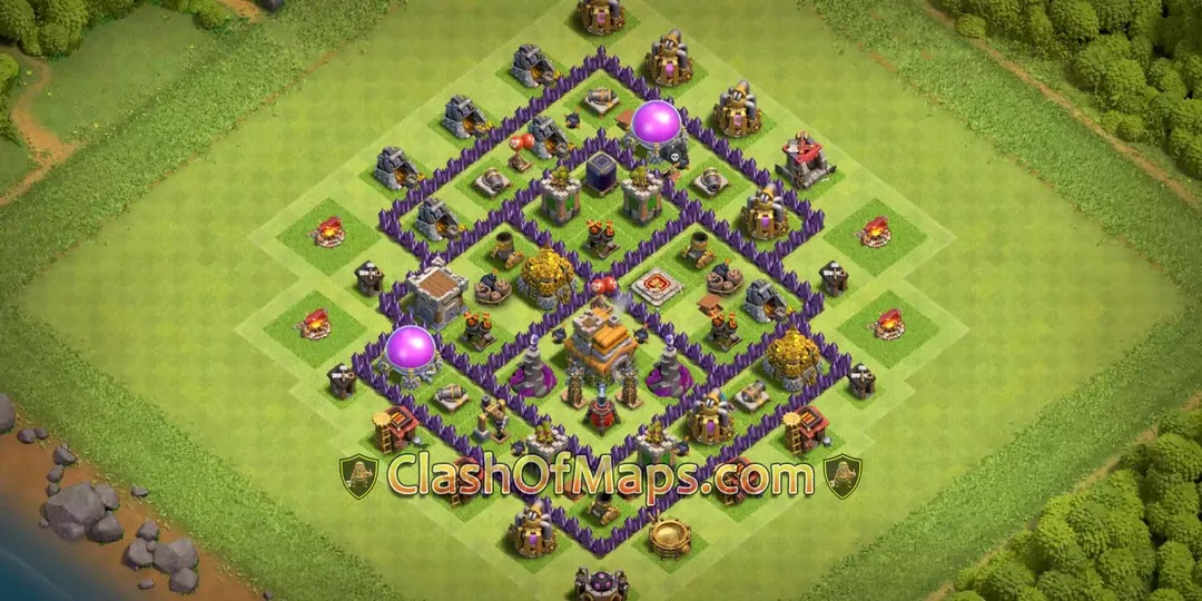 Top 10 Th7 Farming Base 2020 With Copy Link Town Hall 7 List 1
