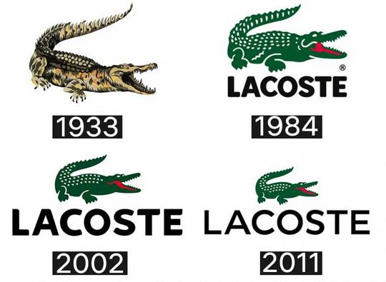 Хронология Lacoste