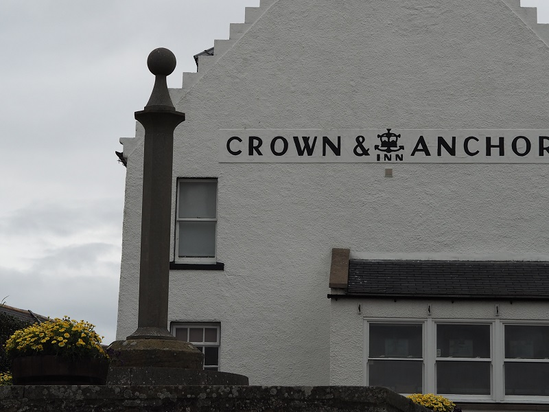 Crown and Anchor Inn in Findhorn