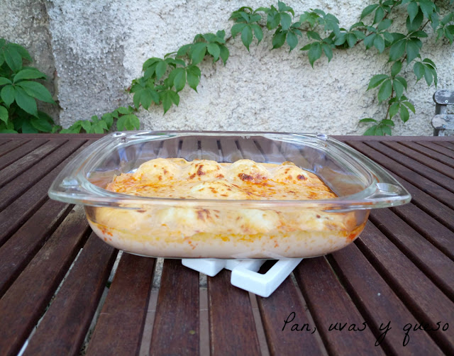 Huevos rellenos gratinados (tradicional o Thermomix)