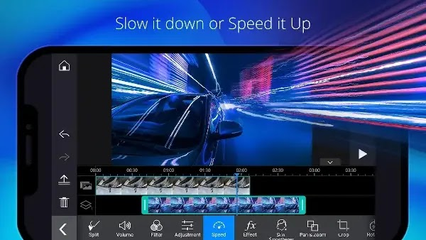 تطبيق PowerDirector  أفضل صانع و محرر فيديو