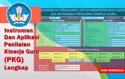 Instrumen dan Aplikasi Penilaian Kinerja Guru (PKG)