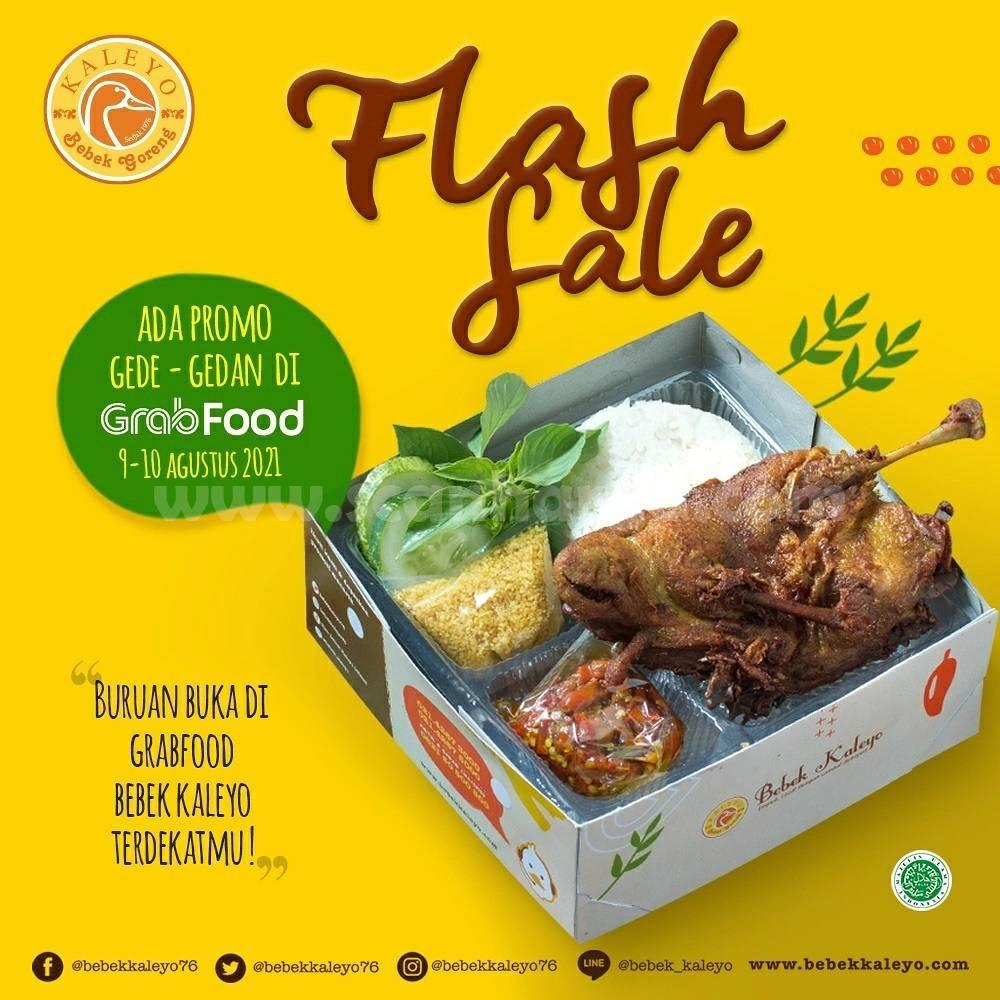 Bebek Kaleyo Promo Flash Sale - Diskon Gede - Gedean khusus pemesanan via Grabfood