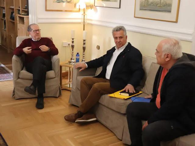Συνάντηση Π. Νίκα με τον δήμαρχο Ερμιονίδας