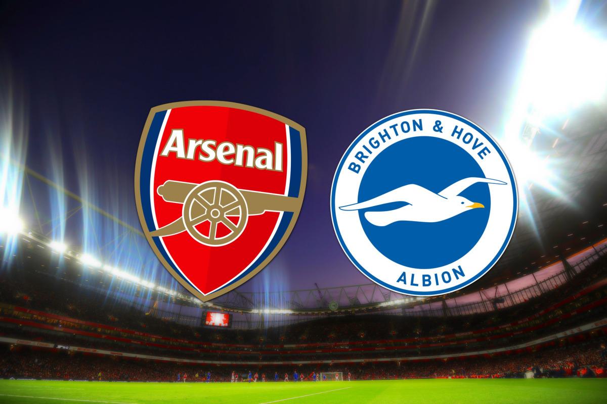 موعد مباراة أرسنال ضد برايتون والقنوات الناقلة في الجولة 16 من الدوري الانجليزي