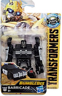 Hasbro Transformers Bumblebee Movie Speed Series Barricade 001