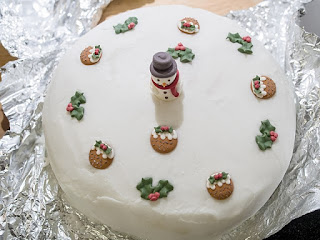 Mother Christmas Cake Recipe for the Festival of Christmas.