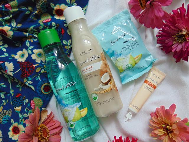 Kosmetyki Love Nature, Trymer Remngton i Perfumy So Fever Her - Moje zamówienie z Oriflame