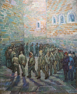 Vincent Van Gogh Round of Prisoners