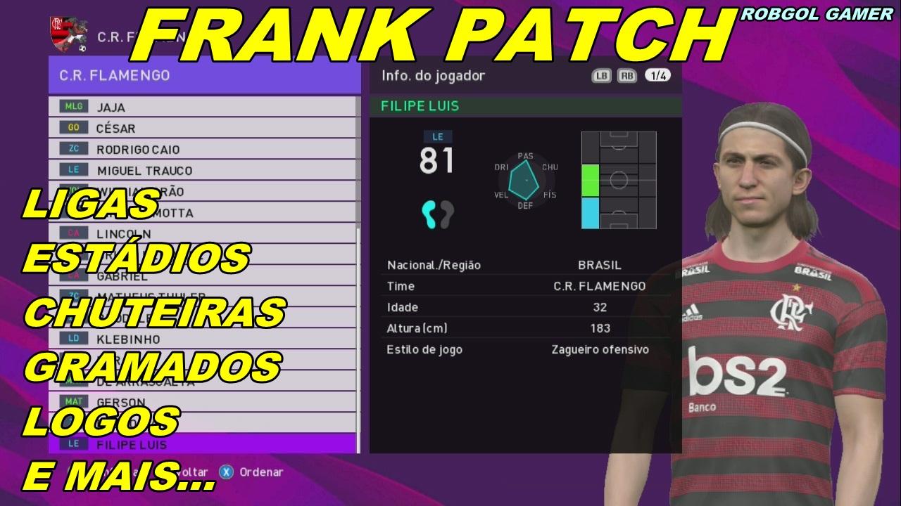 PES 2018 XBOX 360 Frank Patch 2019 Season 2019/2020