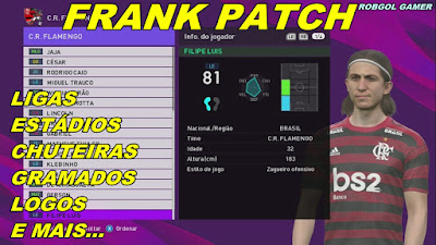 PES 2018 XBOX 360 Frank Patch 2019 Season 2019/2020