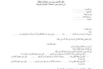نموذج طلب رخصة فتح محل تجاري بالمغرب