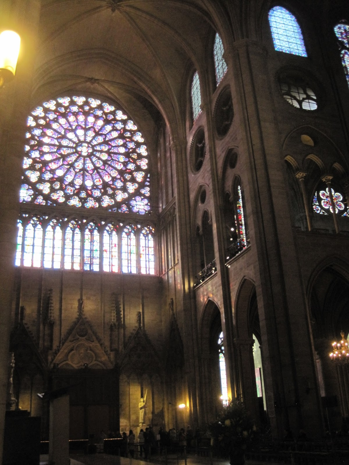 overview of sainte chapelle essay Sainte-chapelle:rich gothic example in the sainte-chapelle at paris (1247–50), reconstructed by eugène-emmanuel viollet-le-duc in the 19th century in the renaissance the use of the baldachin became more common, and during the 17th century elaborate structures were built, probably as a result of the influence of the.