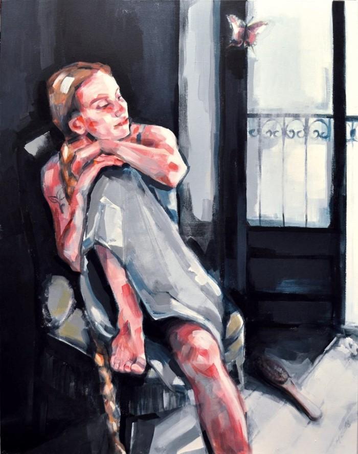Немецкий художник. Alzbeta Muller