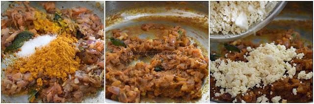 Tofu Bhurji / Scrambled Tofu Bhurji / Vegan Bhurji