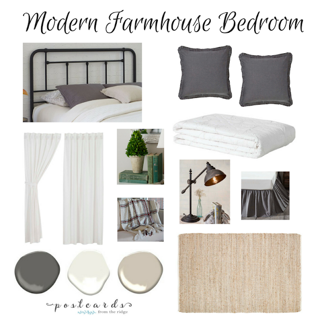 modern farmhouse bedroom ideas