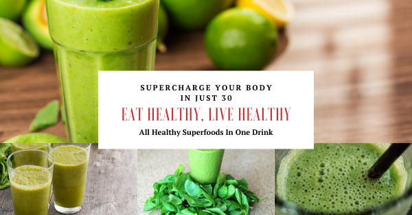 All Healthy Stunning Superfoods In One Drink