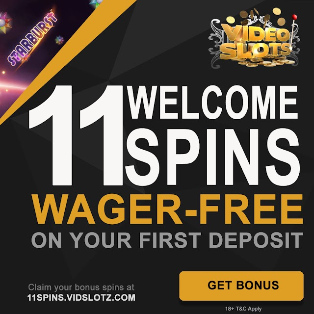 11 Extra No Wager Spins After Deposit From Videoslots