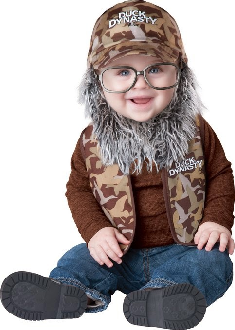 Baby Uncle Si Costume