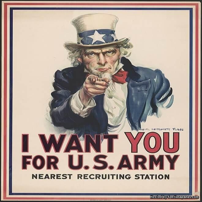 Asal-usul Gelaran Uncle Sam Amerika Syarikat