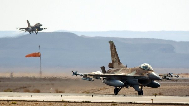 BREAKING: Israel Launches Biggest Airstrikes In Syria Since 1982